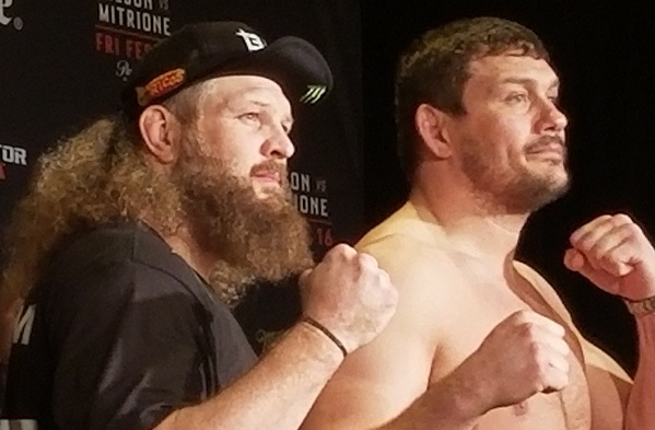 Bellator 194 weigh-in results - Roy Nelson vs Matt Mitrione