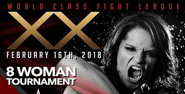 World Class Fight League 20 : 8-woman tournament, winner gets Invicta contract