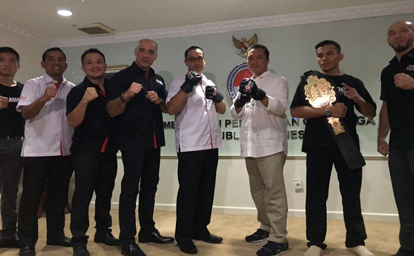 IMMAF Welcomes Indonesia Committee For Martial Arts (KOBI)
