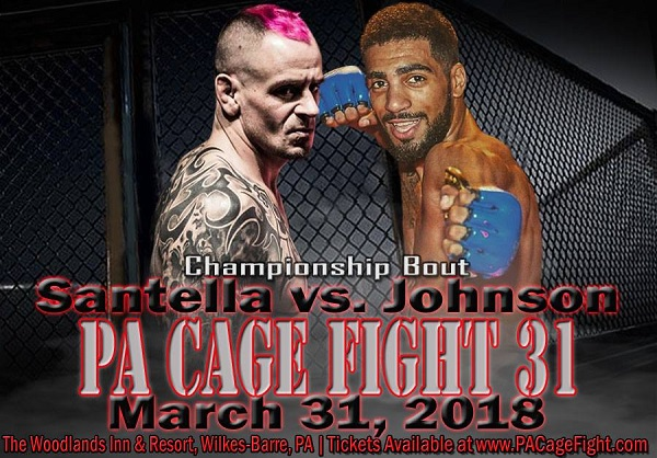Sean Santella to defend PA Cage Fight flyweight title against Charles Johnson