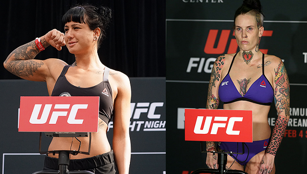 Ashlee Evans-Smith moves to flyweight, meets Bec Rawlings