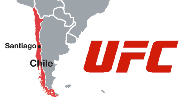 UFC to land in Santiago, Chile for very first time