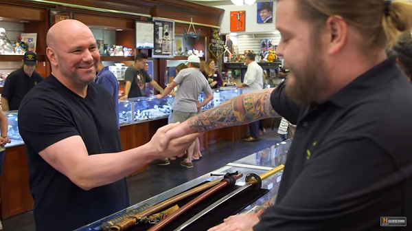 PAWN STARS -Dana White spends $69,000 on swords for 'Weapons Room'