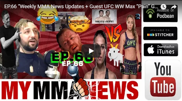 "Pure EVil MMA #66 - Weekly MMA Updates & Max ""Pain"" Griffin"