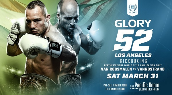 Featherweight title unification bout headlines GLORY 52 Los Angeles