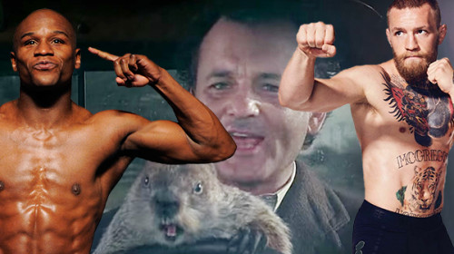It's Groundhog Day – Here we go……. Conor vs Mayweather again????