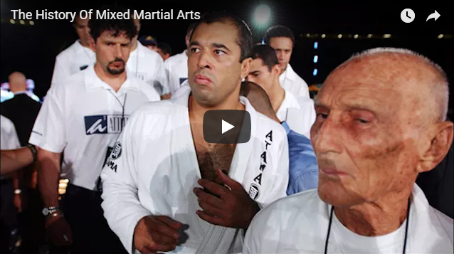 The History of Mixed Martial Arts