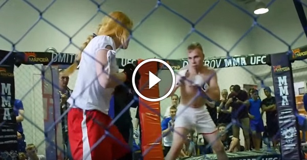 MMA Gender Wars, black note