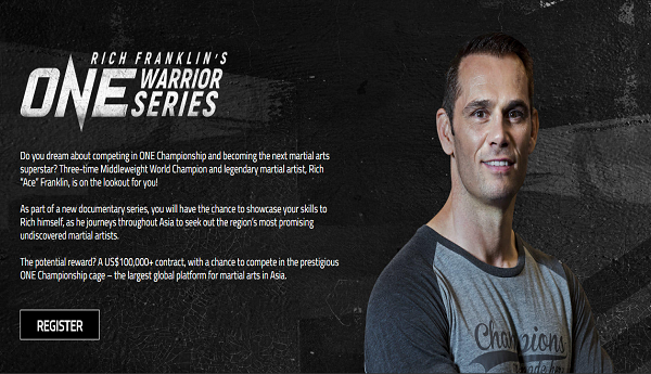 Rich Franklin's ONE WARRIOR series to hold tryouts in Jakarta, February 19