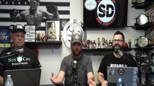 Joey nearly died on the Strongboard – Split Decision MMA Podcast