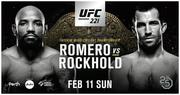 UFC 221 – What the numbers say about Rockhold vs Romero
