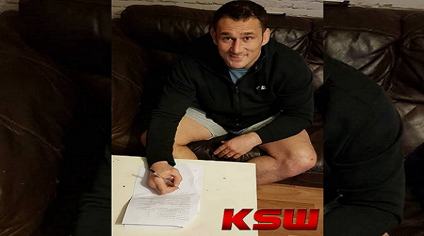 Top UK Heavyweight Phil De Fries signs with KSW
