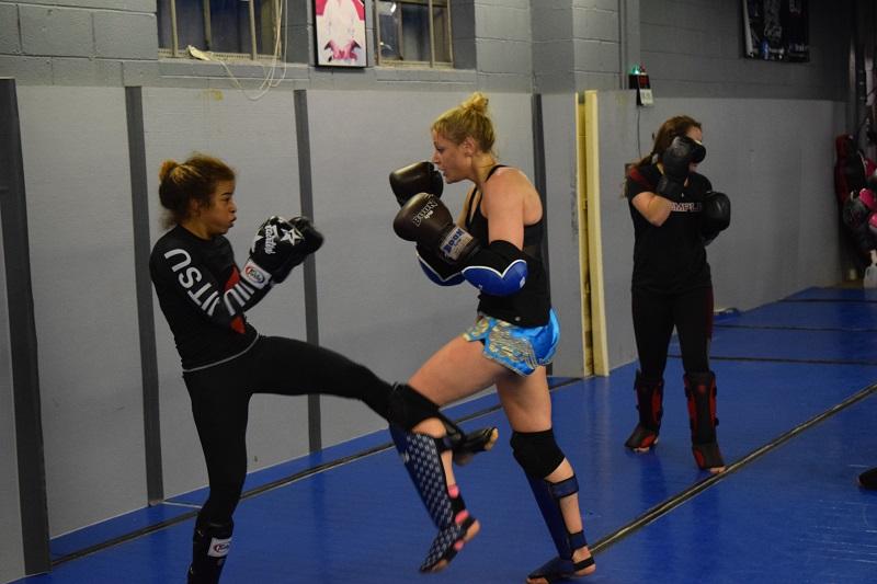 Lisa Edinger, Criszaida Adames, WMMA, women's MMA