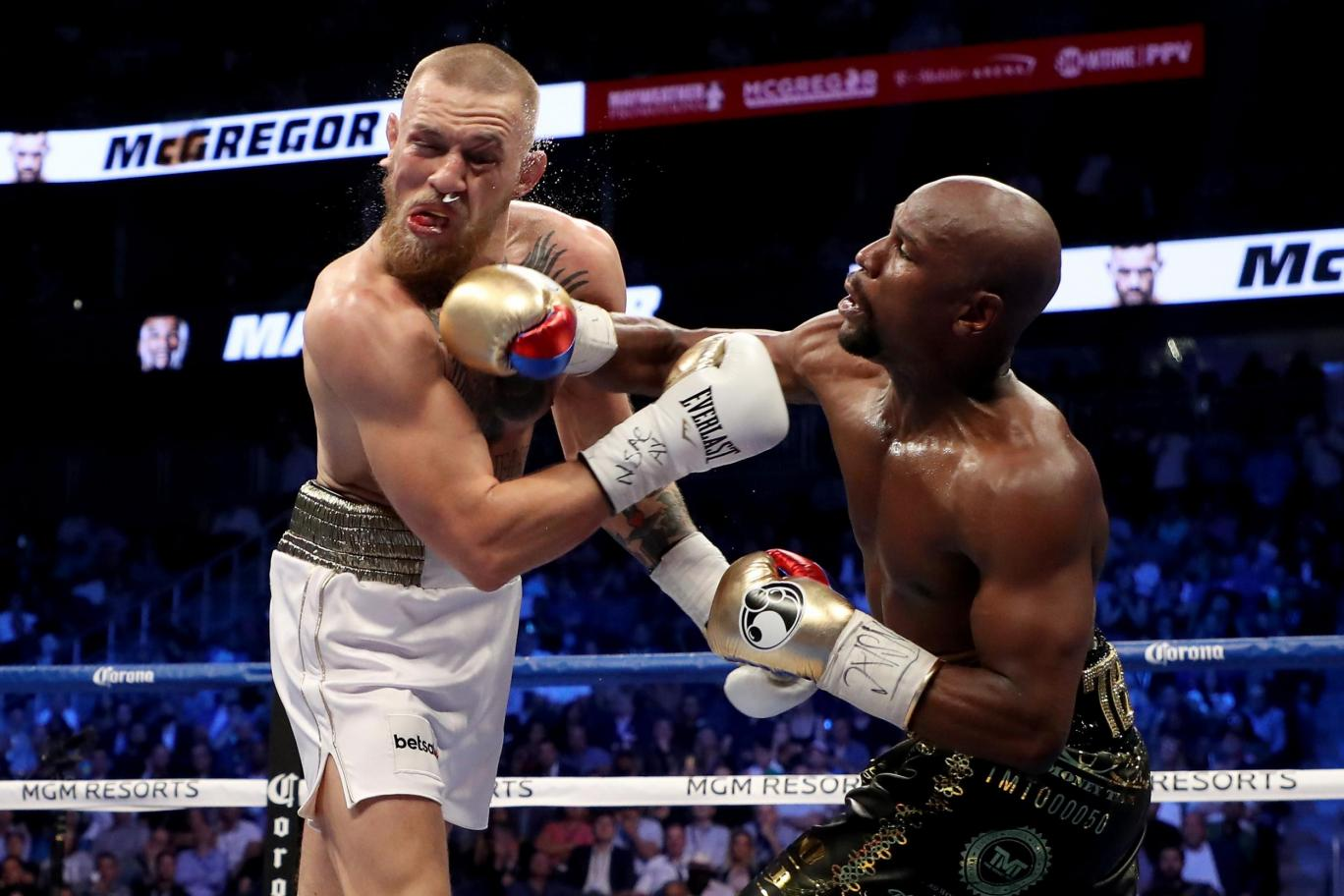 Conor McGregor vs. Floyd Mayweather Jr. - August 26, 2017 - Photo by Beckham pz10, CC BY