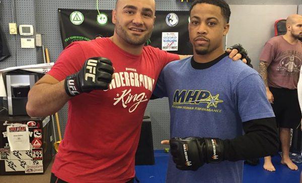 Brandon Davis and Eddie Alvarez