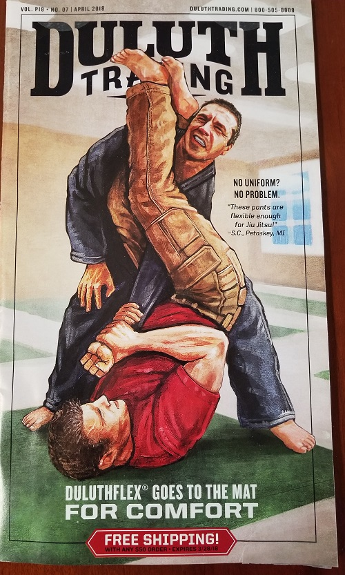Duluth Trading, Duluth pants for jiu-jitsu