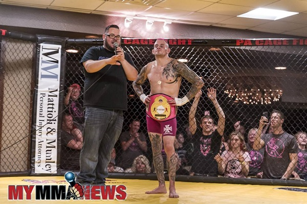 Paul Matreselva Jr. talks PA Cage Fight 31, promotional challenges