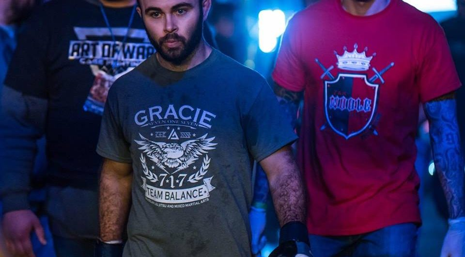 "John ""BearCat"" Brennan defends lightweight title at Art of War 6 in hometown of Lancaster"