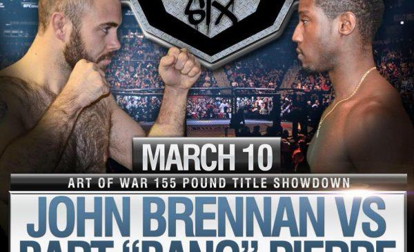 Art of War 6 - John Brennan vs Bart Pierre