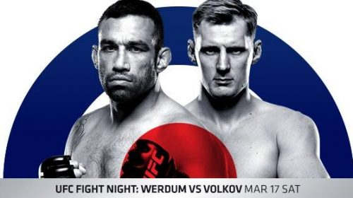 UFC Fight Night 127 results – Werdum vs Volkov from London