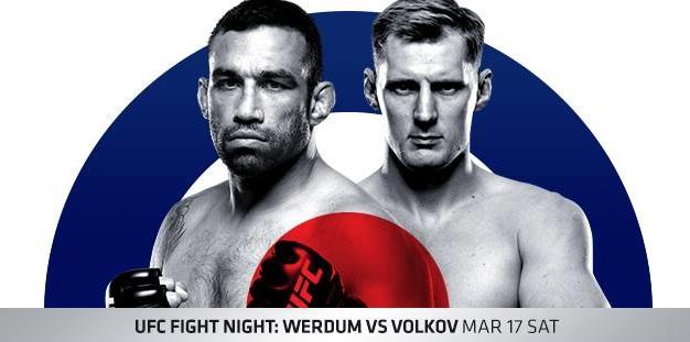 UFC Fight Night 127 results - Werdum vs Volkov from London