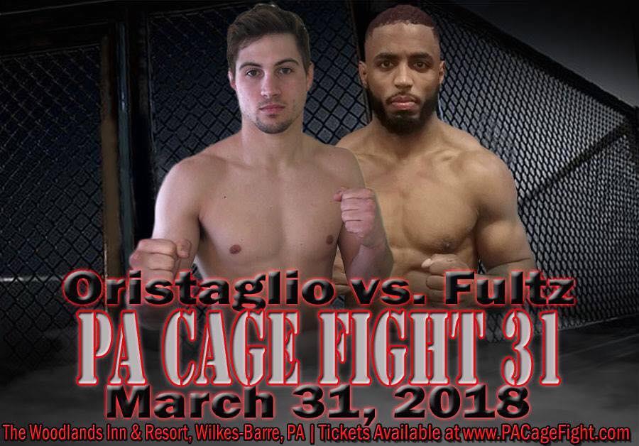 Vinny Oristaglio, PA Cage Fight 31