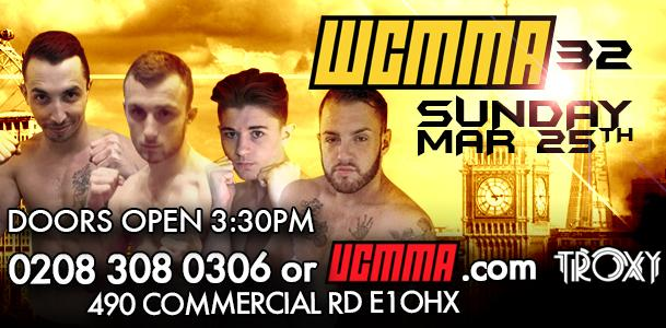 WCMMA 32 – Official PPV Live Stream from London, England