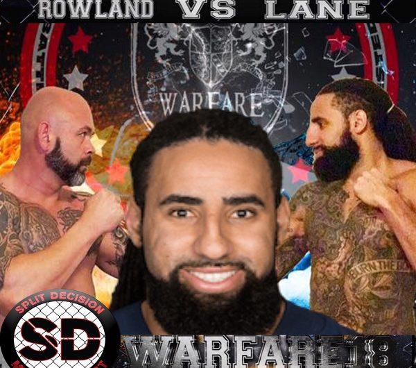 Former NFL player Austen Lane talks WarFare 18 MMA bout