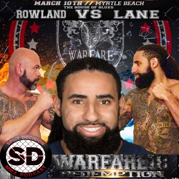 Former NFL player Austen Lane talks WarFare 18 MMA bout