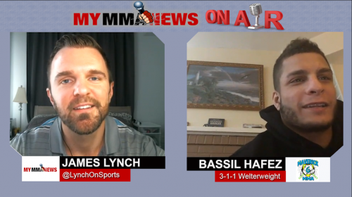 Bassil Hafez looks to finish Sidney Outlaw at Maverick MMA 6, jump to Contender Series