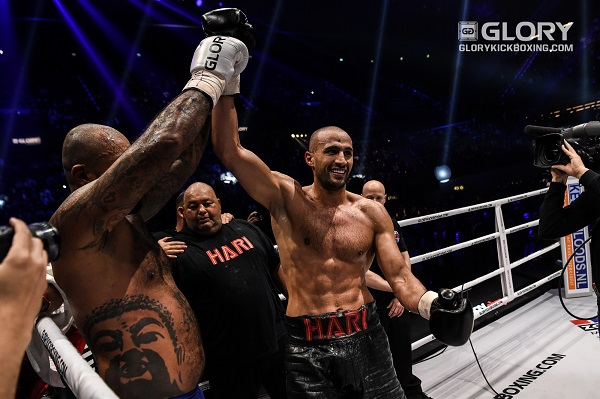 GLORY 51 Results - Badr Hari defeats Hesdy Gerges