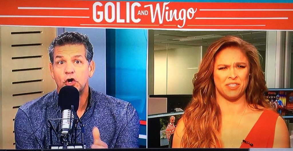 Ronda Rousey misunderstands question, gets annoyed with Mike Golic