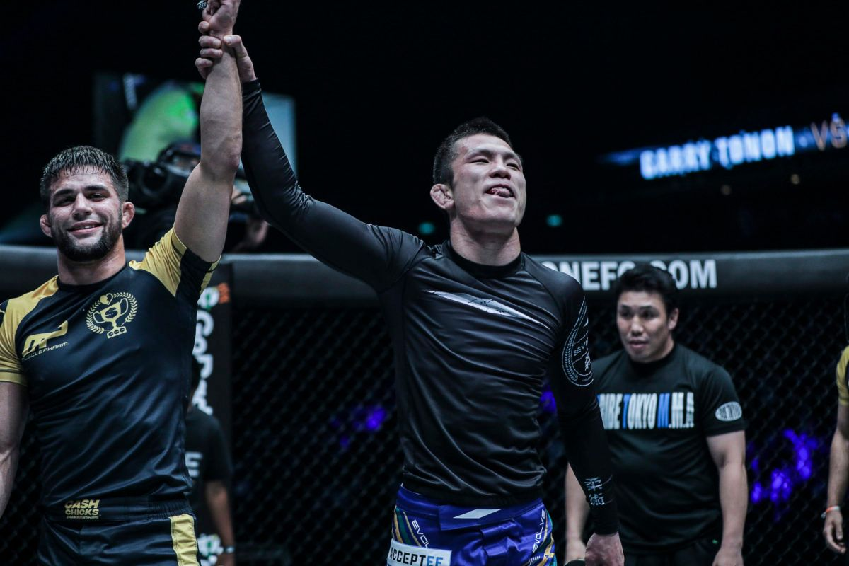 Garry Tonon and Shinya Aoki