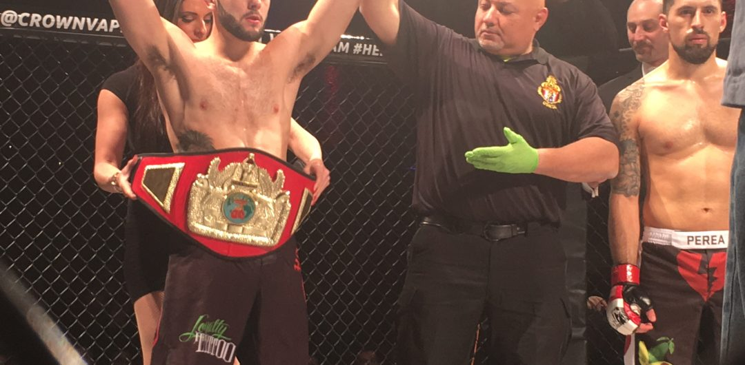 New York State Amateur MMA Featherweight Rankings – Updated – March 9, 2018