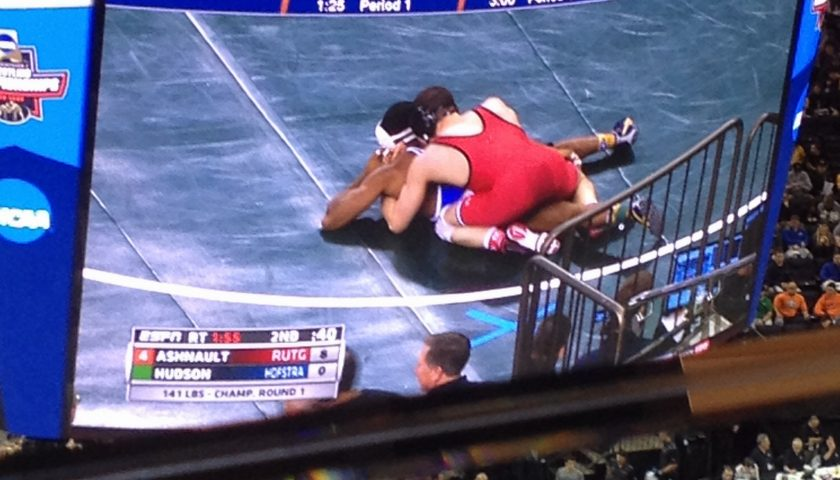 NCAA Wrestling: Quarterfinal Results – Session 3