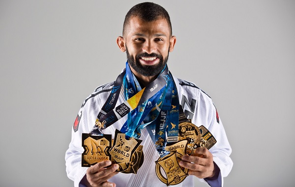 Jiu-jitsu legend Bruno Malfacine signs with Brave Combat Federation