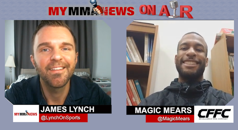 CFFC 70's Magic Mears Talks Matchup Against Aljamain Sterling's Brother Mar. 24 & Training with MLB's Mike Trout