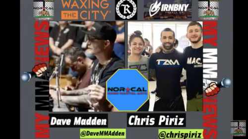 NorCalFightMMA Podcast – Episode 133 Featuring Chris Piriz
