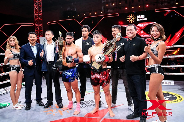 Kunlun Fight 70 results - Competitors advance in tournament