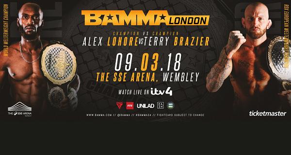 BAMMA 34 - Alex Lohore vs. Terry Brazier - Official PPV Live Stream
