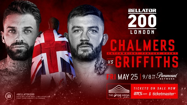 Aaron Chalmers, Star of MTV's 'Geordie Shore,' Set to Make Promotional Debut at Bellator 200