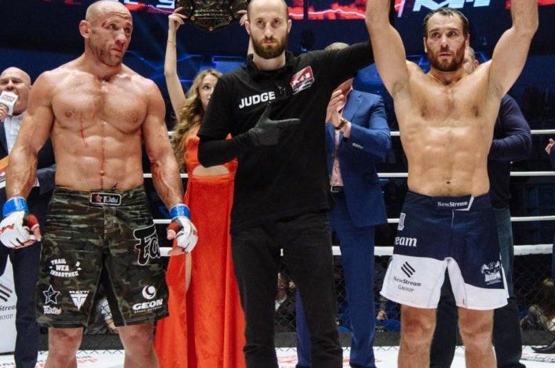 M-1 Challenge welterweight champion Alexey Kunchenko remains perfect Stops Alexander Butenko to go 18-0-0