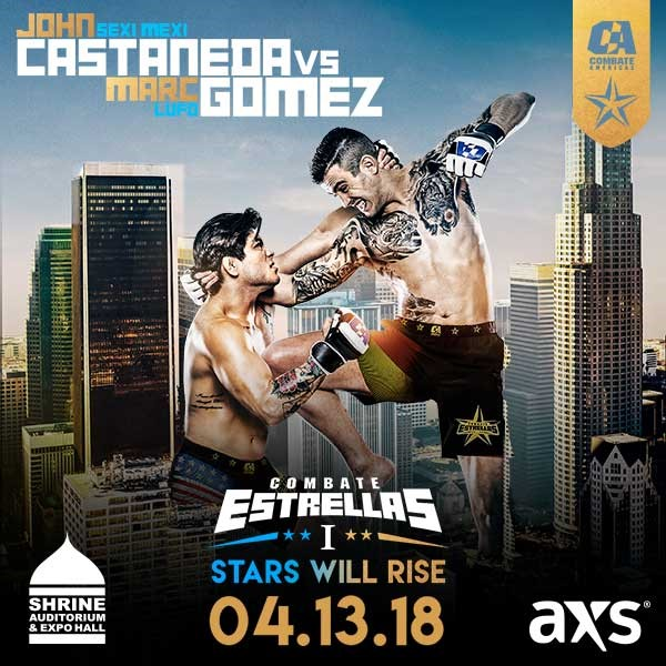 Combate Americas - Six New Fights Added To April  13 Live Event in LA