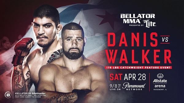 Dillon Danis Set For MMA Debut Against Kyle Walker at Bellator 198 on April 28