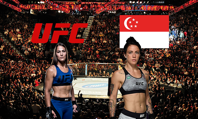 Jessica Eye vs. Jessica-Rose Clark targeted for UFC Singapore in June