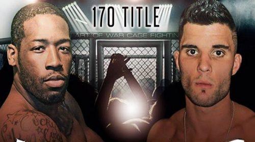 Sharif Jones vs Nate Vantassel grudge match added to Art of War Cage Fighting 7