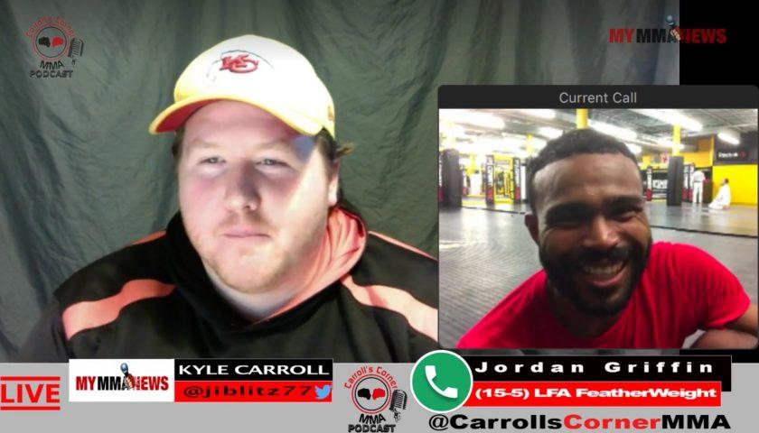 CC MMA Podcast: Jordan Griffin of Roufusport MMA Wins at LFA 34