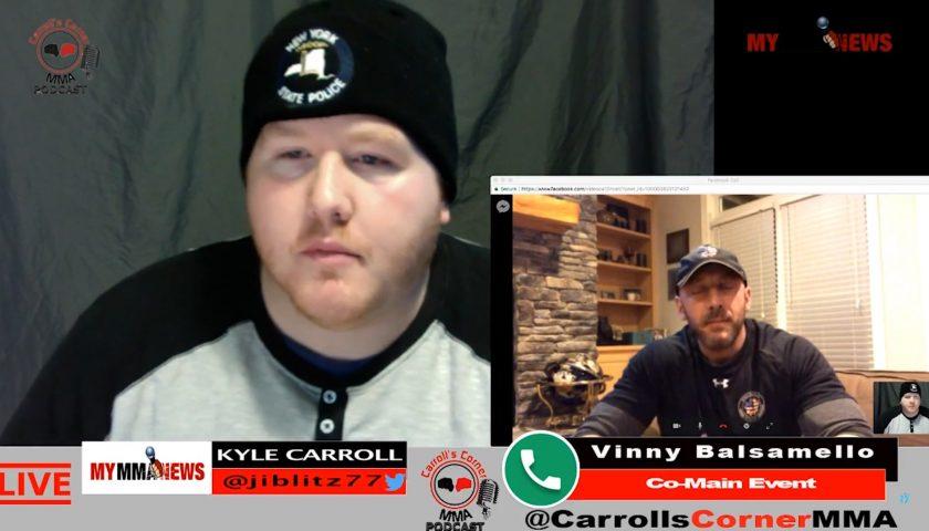 CC MMA Podcast: Vinny Balsamello; Jack Hammer English Invasion 3 Co-Main Event Challenger