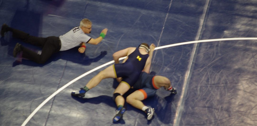 NCAA Wrestling Session 1: Tech Falls, Falls, and Upsets – Bracket Updates – Snyder vs. Coon?