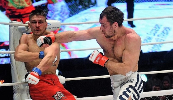 Undefeated M-1 Challenge welterweight champion Alexey Kunchenko to defend title belt against former M-1 Challenge lightweight champion Alexander Butenko
